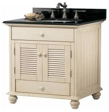 Foremost Bathroom Vanities by Foremost Cottage 24 Inch Vanity Premium Antique White Finish