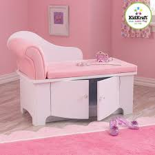 Pink Bedroom Furniture by Bedroom Girls Pink Princess Storage Chaise Lounge Chair Couch