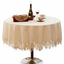 Lace Table Overlays Popular Round Lace Table Overlays Buy Cheap Round Lace Table