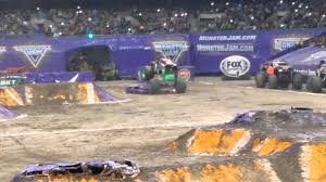 monster truck jam anaheim digger anaheim crashes freestyle son uva theme song son monster