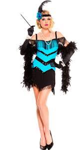 Halloween Flapper Costumes Seductive Flapper Costume Teal Black Sequin Flapper Costume