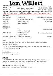 sample headshot resume resume samples harlequinn productions 100