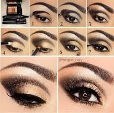 bridal makeup tutorial golden eye shades for bridal makeup tutorial b g fashion