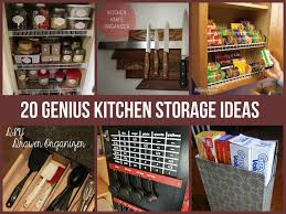 kitchen cabinets shelves ideas 20 genius kitchen storage ideas jpg