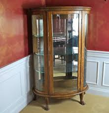 curved glass china cabinet china cabinet glass replacement