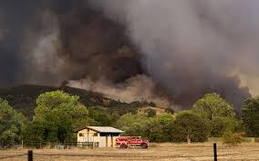 California Wildfire Rocky Fire by California Crews Continue Fighting Rocky Fire Al Jazeera America