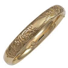 customized gold bracelets engraved gold bangle bracelet charles schwartz