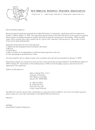 examples of resume cover letters athletic trainer cover letter jianbochen com cover letter scholarship application html