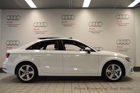 white audi sedan 2017 used audi a3 sedan 2 0 tfsi premium quattro awd at audi