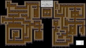 dungeon floor plans dragon warrior iii dungeon u0026 tower maps gbc realm of darkness