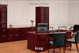 Krug Office Furniture by Casegoods Desks Bernards Office Furniture