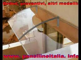 pensilina tettoia in policarbonato plexiglass pensilina tettoia in policarbonato plexiglas veranda cappottina