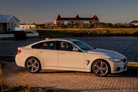 bmw gran coupe 4 series bmw 4 series gran coupe alpine white and m sport package