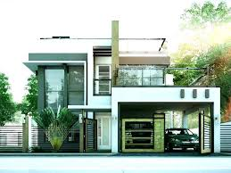 Brilliant Ideas Modern Two Story House Plans Two Story Houses Design