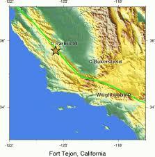 Usgs Earthquake Map California Largest Earthquakes In California History Sfgate