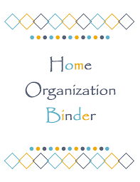 Download Design This Home Gift Week Day 2 Download This Home Organization Binder Cover