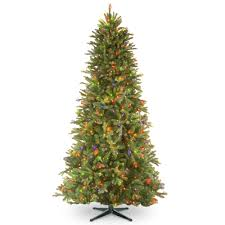 7 5 u0027 tiffany fir trees artificial christmas tree with 650 multi