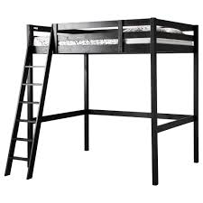 Black Bunk Beds Storå Loft Bed Frame Ikea
