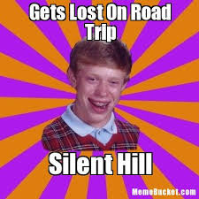 Trip Meme - gets lost on road trip create your own meme