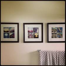 it u0027s because i think too much diy instagram wall art
