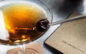 manhattan drink brandied cherry manhattan jean georges restaurants
