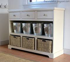 adorable white entryway table with ana white 3 drawer open shelf