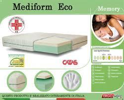 materasso 90x190 materasso memory mod mediform eco 90x190 presidio medico altezza