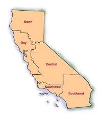 california map regions 4cs organization organizational structure