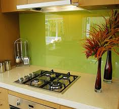 Green Kitchen Backsplash Tile Colorful Backsplash Tiles For Kitchens Homesfeed