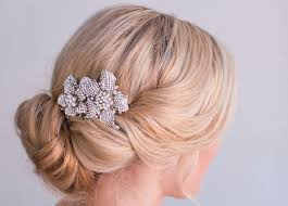 wedding hair clip flower wedding hair clip