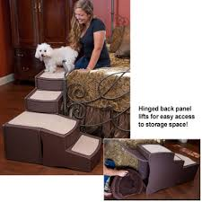 Elevated Dog Bed With Stairs Dog Stairs Easy Step Bed Stairs