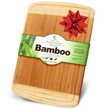 my place new jersey cutting serving board by totally bamboo
