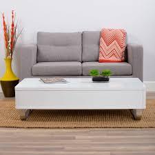 cali white lacquer high gloss lift top coffee table matrix imports