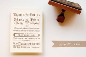 western wedding invitations diy rubber st vintage western wedding save the dates invitations
