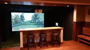 indoor golf design golf simulator sports simulator