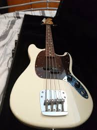 Fender Mustang Bass Black Cij Fender Mustang Bass And Hardcase In Clifton Bristol Gumtree