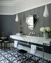 bathrooms design furniture bathroom art deco gray stained oak