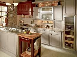 great painted kitchen cabinets brick subway tile backsplash ideas