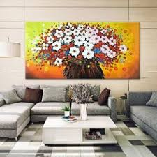 5 piece canvas wall art hand painted palette knife oil 5 piece hand painted oil painting blossom canvas palette knife 3d
