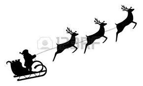 santa sleigh and reindeer santa sleigh clipart free best santa sleigh clipart on