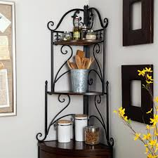 corner shelves for kitchen shelf storage baskets u2013 bradcarter me