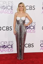 Kristen Bell by Kristen Bell Turns Heads With Bizarre Jumpsuit At People U0027s Choice