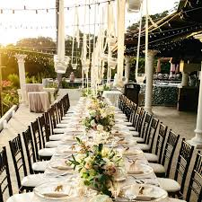 wedding reception ideas for outdoor wedding reception tables popsugar home