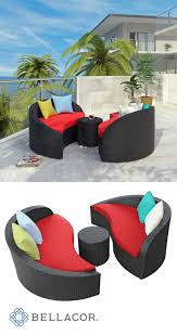 Curved Modular Outdoor Seating by Best 25 Outdoor Sofa Sets Ideas On Pinterest Garden Sofa Set