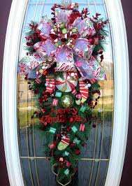 front door wreaths for all seasons big doors teardrop wreath