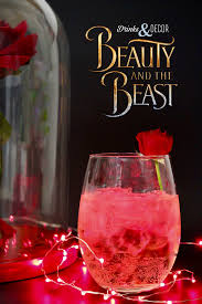 tropical drink emoji disney u0027s beauty and the beast inspired cocktails enchanted rose