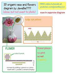 3d Origami Flower Vase Tutorial 11 Best Origami Images On Pinterest Modular Origami Origami Art