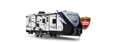 Zinger Travel Trailers Floor Plans Aerolite Travel Trailers And Expandables