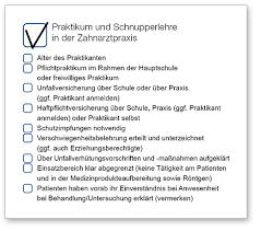 Praktikum Zusage Vorlage Praktikum Und Schnupperlehre In Der Zahnarztpraxis Bayerische