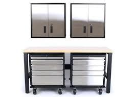 steel garage storage cabinets garage steel storage cabinets 5 piece set of stainless steel garage
